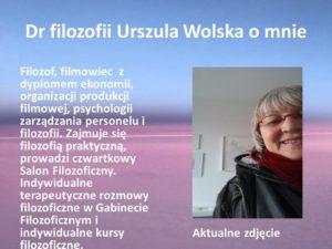 Permalink to:Dr filozofii Urszula Wolska – o mnie